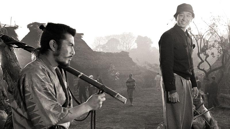 Kedvenc színészével és barátjával, Mifune Toshiróval