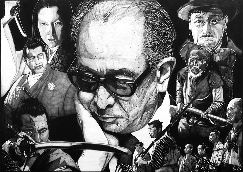Kurosawa ma már az egyetemes film ikonja