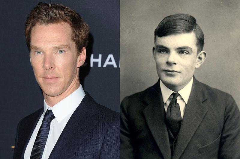 Benedict Cumberbatch játszotta Turing szerepét a 2014-es Kódjátszmában