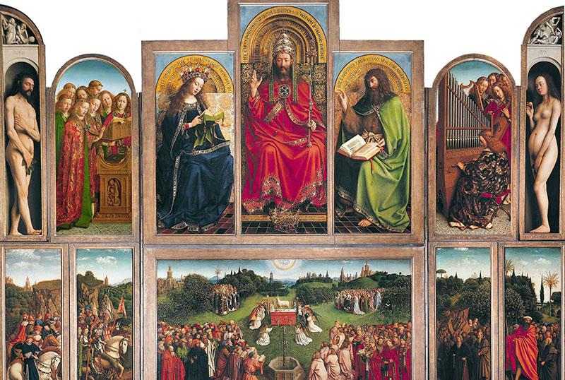 Jan van Eyck: A genti szárnyasoltár