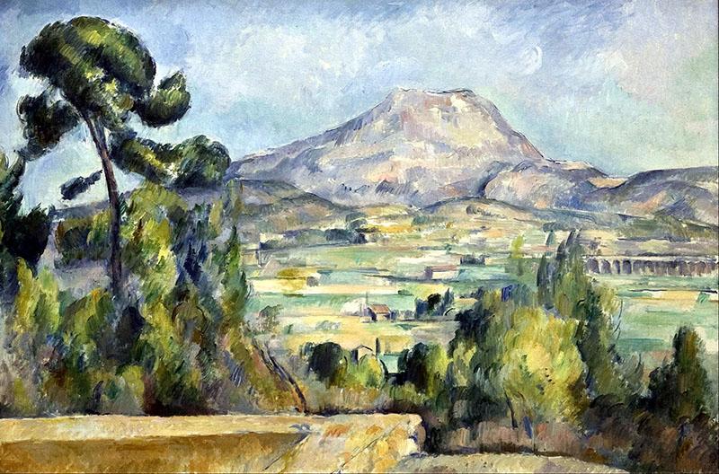 Paul Cézanne: A Sainte-Victoire hegy