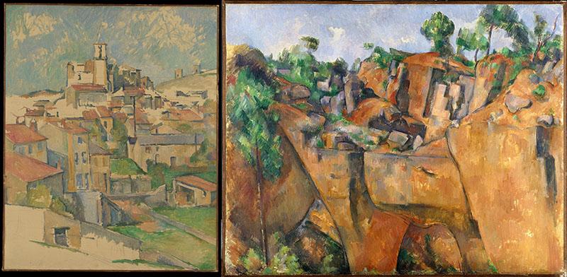 Paul Cézanne: Gardanne település és Bibemus kőbányája