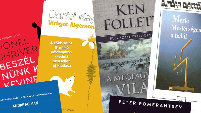 Alternatív kötelező olvasmányok a nyárra