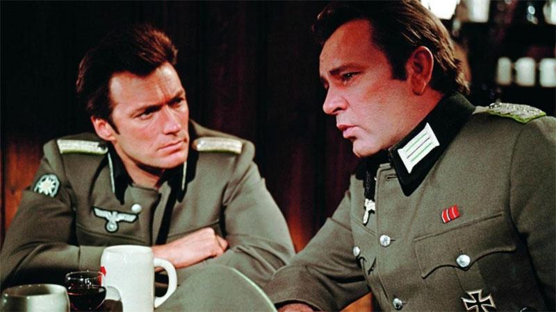 Kémek a Sasfészekben, Eastwood Richard Burtonnel