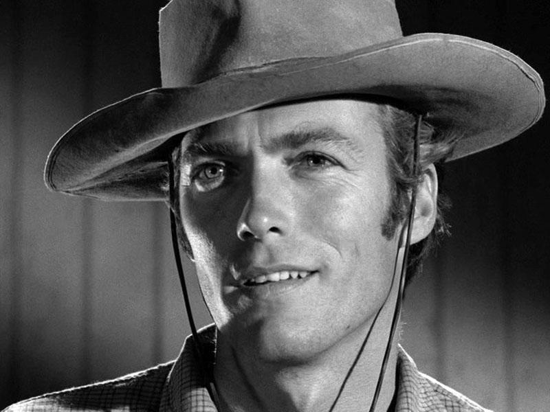 Rowdy Yates, a fiatal cowboy szerepében