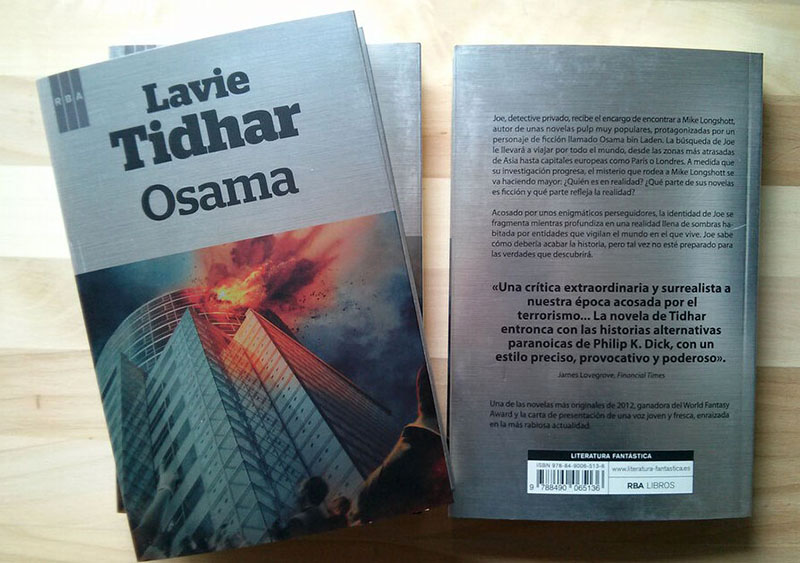 Lavie Tidhar: Osama