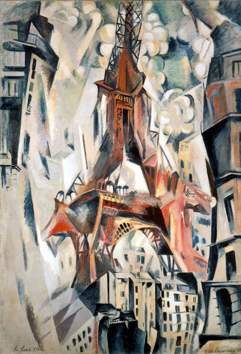 Delaunay: Az Eiffel-torony