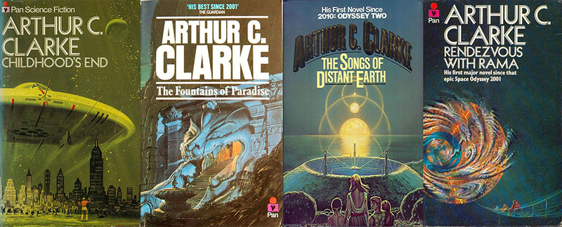 Clarke regényeit a mai napig rengetegen olvassák