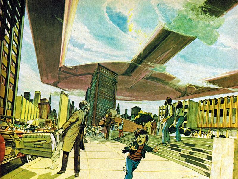 Neal Adams képregényrajzoló konceptrajzai az ABC el nem készült adaptációjához