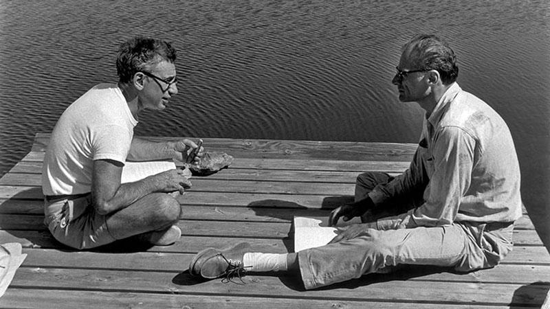 Egykori jóbarátjával, Elia Kazannal