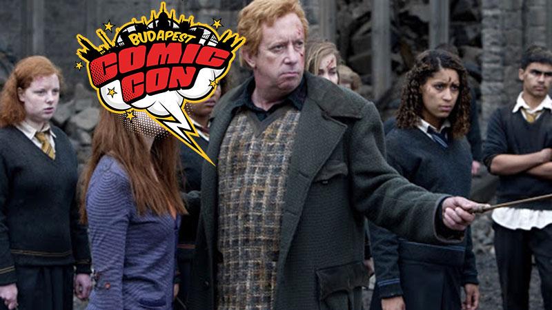 Te is találkozhatsz majd novemberben Arthur Weasley-vel