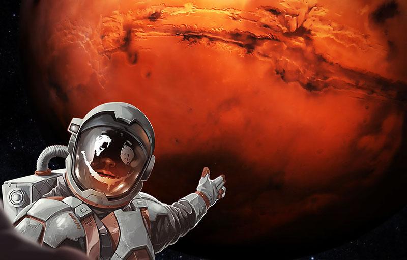 A Mars és az ember viszonya