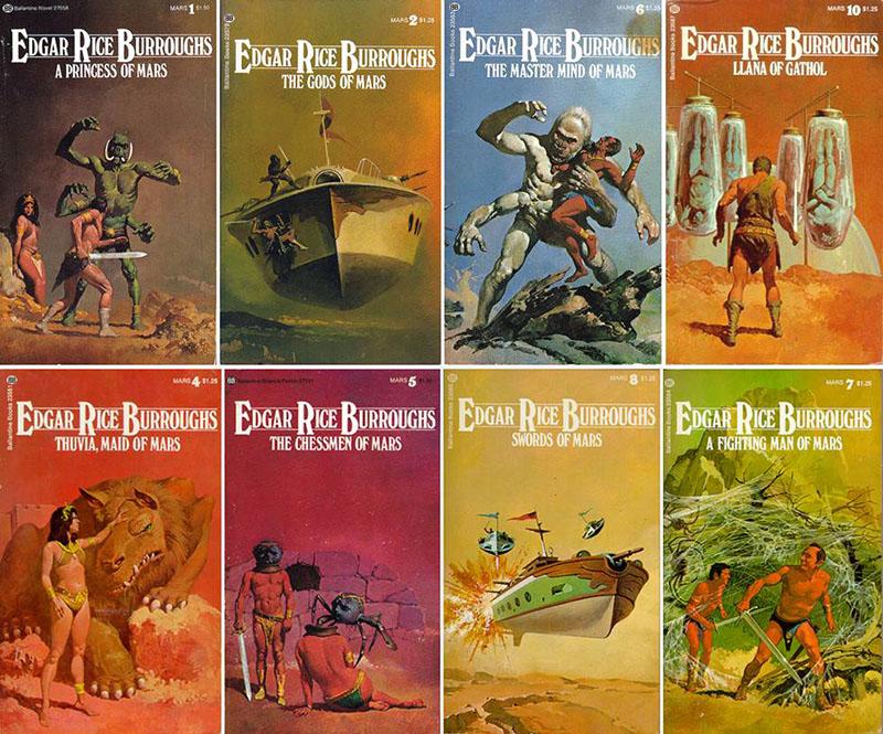Edgar Rice Burroughs kultikus Mars-ciklusa