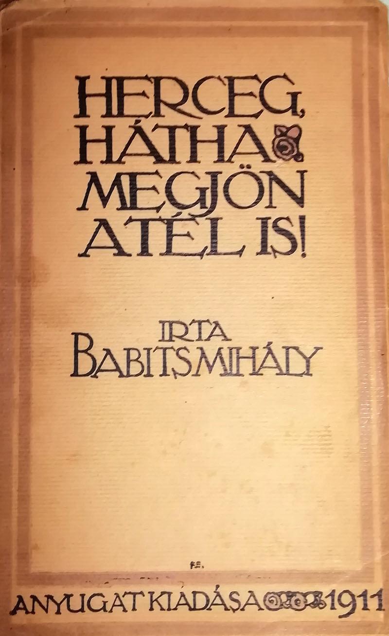 A kötet első kiadása