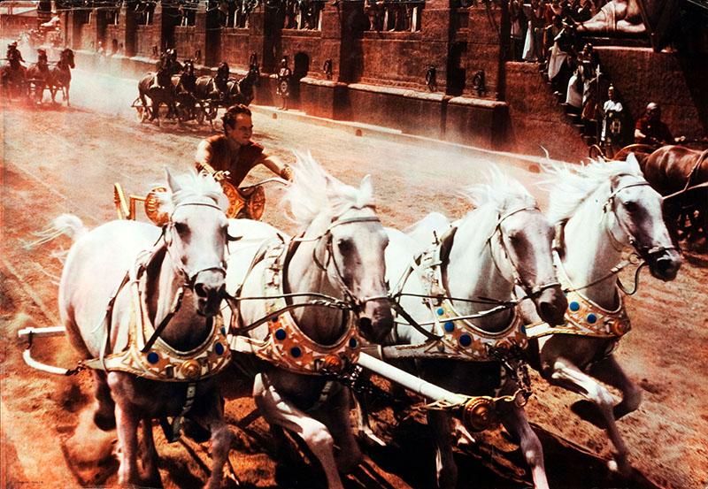 A Ben-Hur talán legikonikusabb jelenete