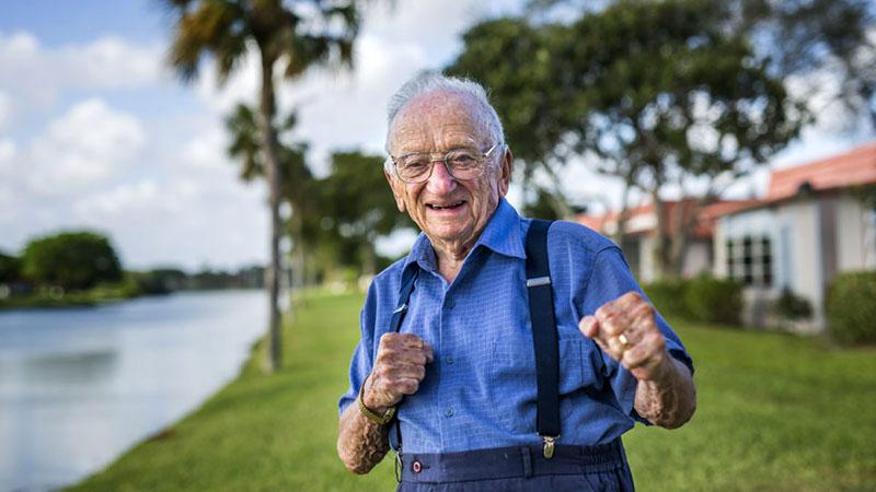 Benjamin Ferencz március 11-én töltötte be a 100. életévét