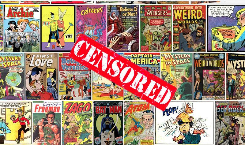 Betiltott képregények a cenzúra árnyékában