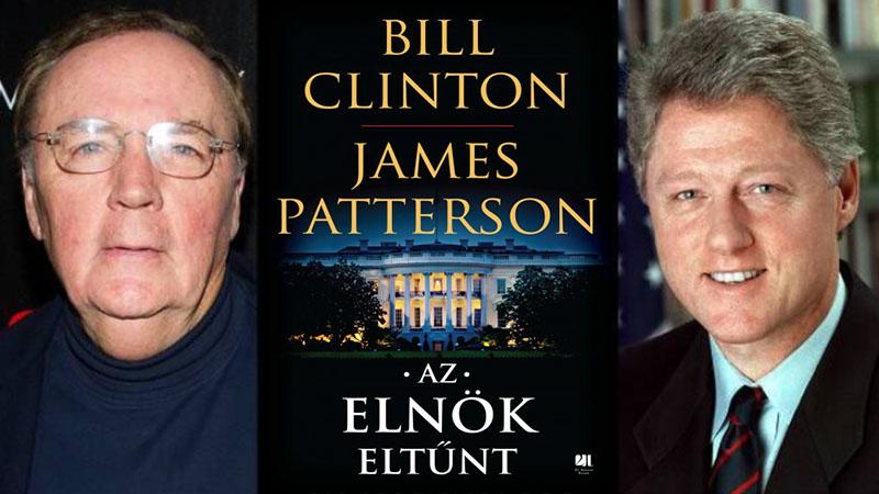 Jön az új Clinton-Patterson-regény