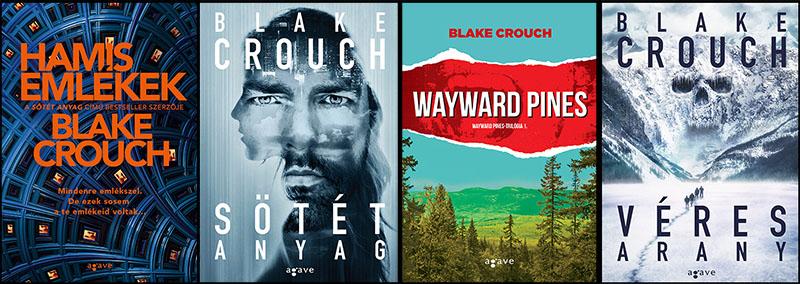Crouch regényeit idehaza az Agave Könyvek gondozza
