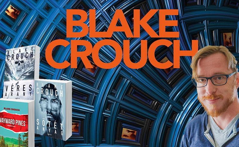 Blake Crouch Budapestre látogat