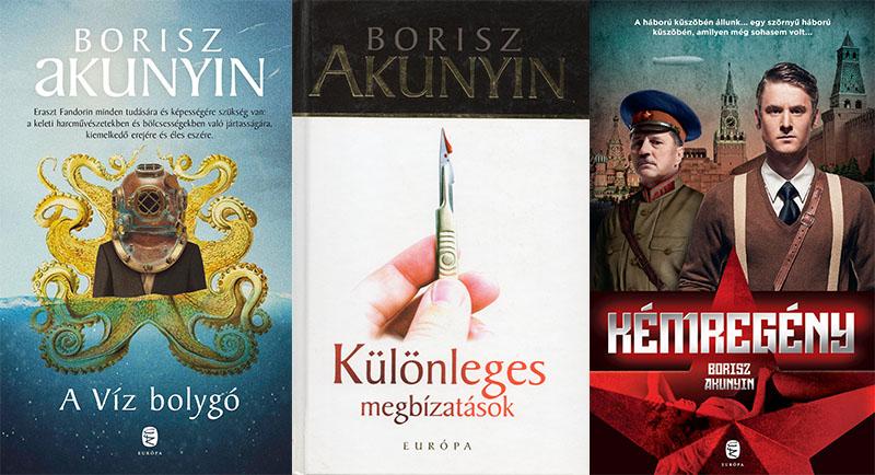 Borisz Akunyin új terepre tévedt