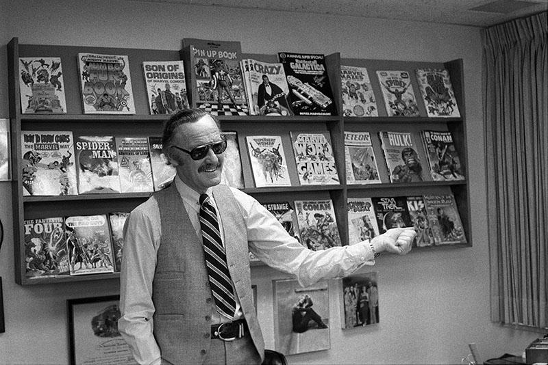 A Marvel atyja, Stan Lee, 1980-ban New Yorkban