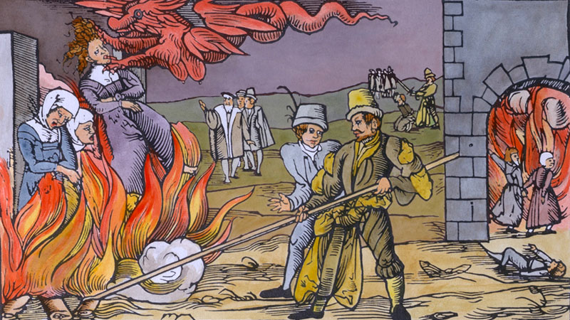 Boszorkányüldözés és boszorkányperek Magyarországon