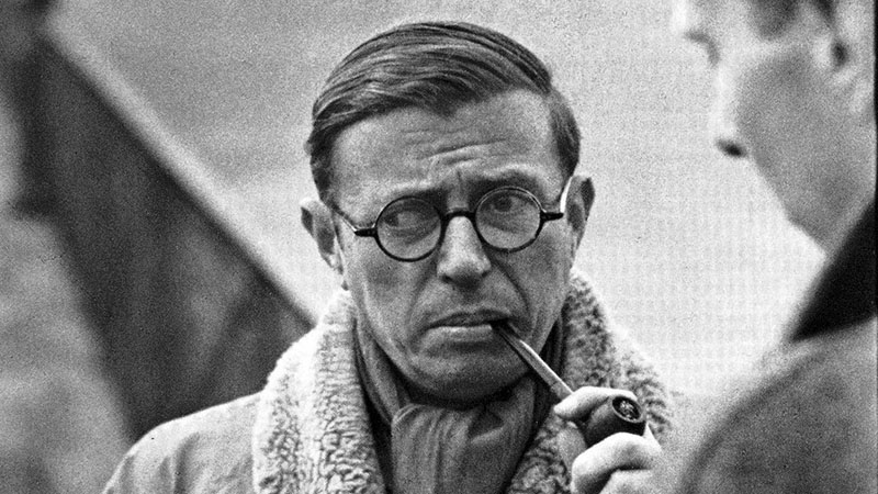 Jean-Paul Sartre (1964)