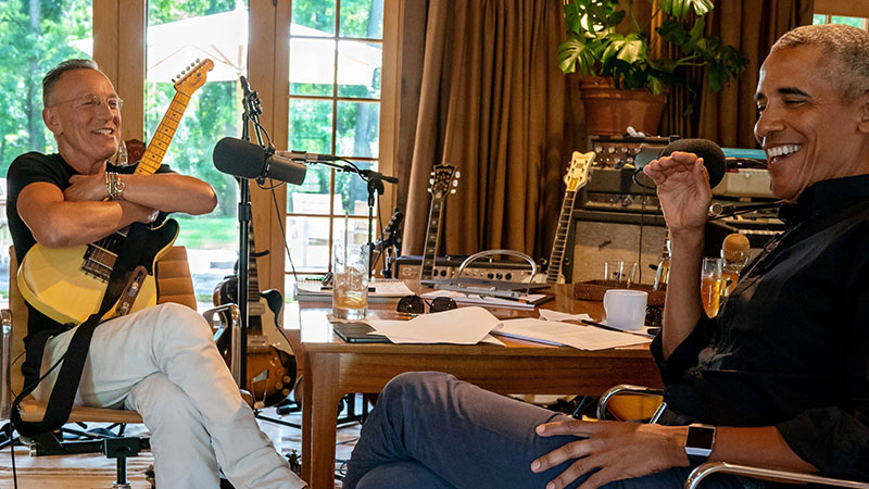 Springsteen annak idején fellépett Obama beiktatási ünnepségén is
