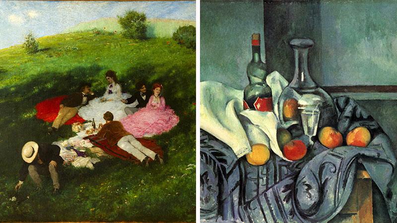 Szinyei Merse Pál és Cézanne kiállítás 2020-ban a fővárosban