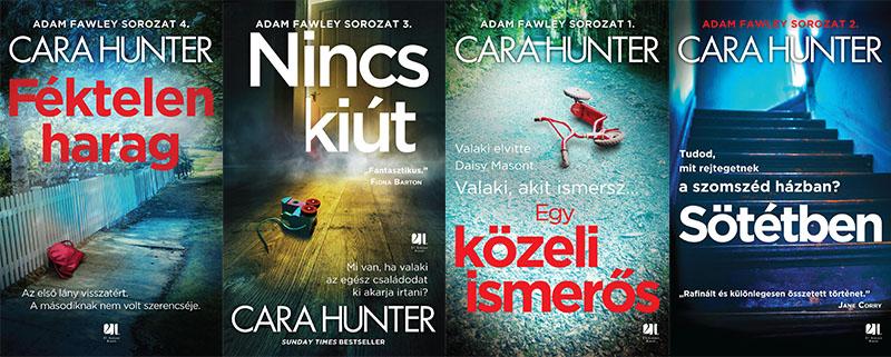 Magyarországon a 21. Század Kiadó gondozza a Hunter-köteteket
