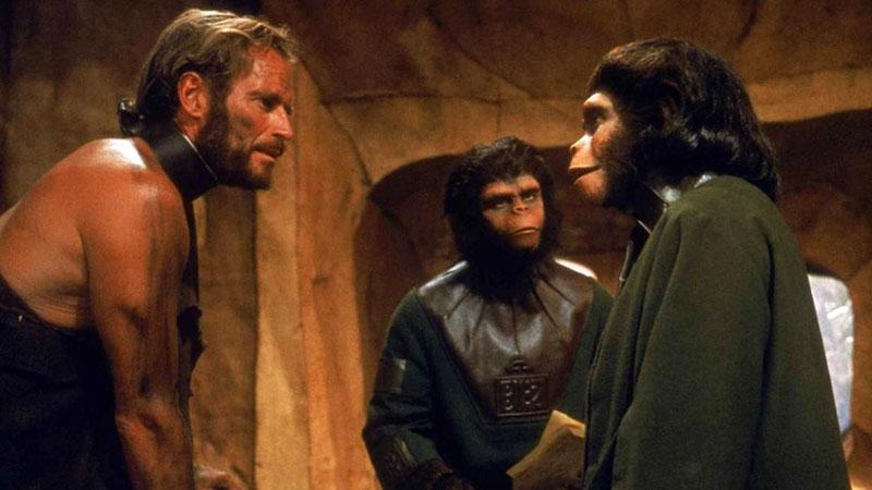Egy újabb kultikus film, A majmok bolygója