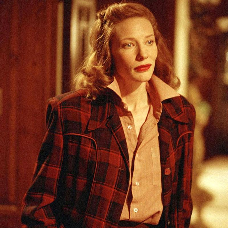 Katharine Hepburn szerepében az Aviátorban