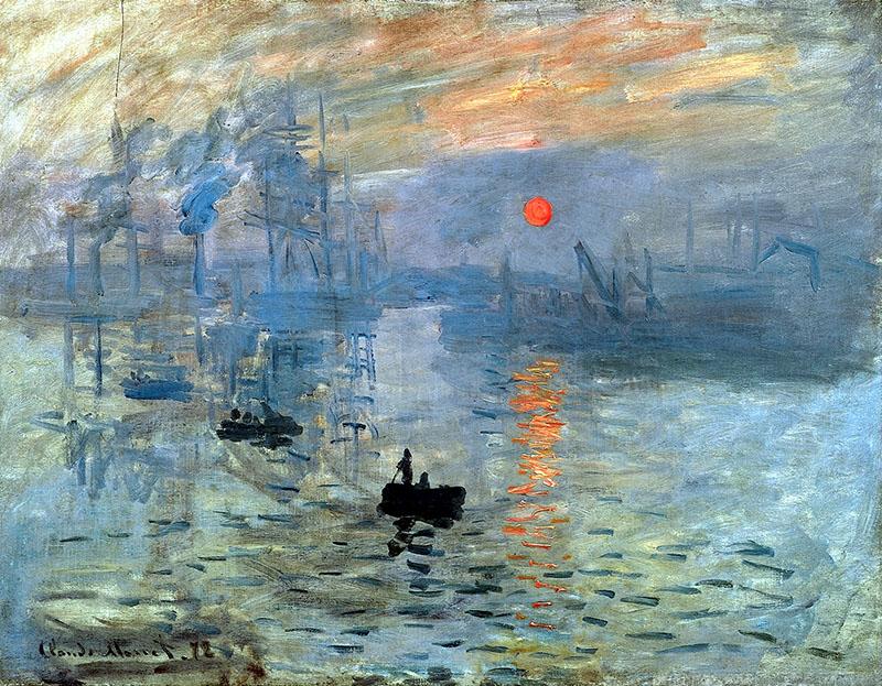 Monet: Impresszió, a felkelő nap