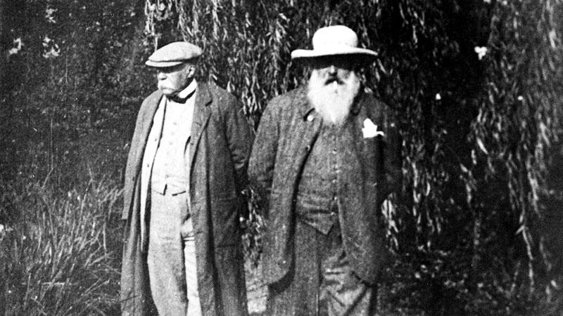 Monet és Clemenceau