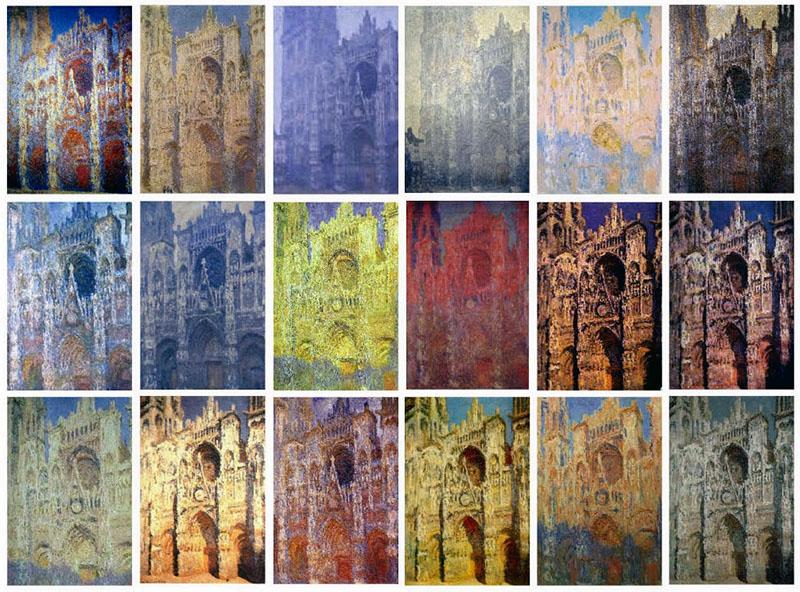 Monet: A roueni katedrális
