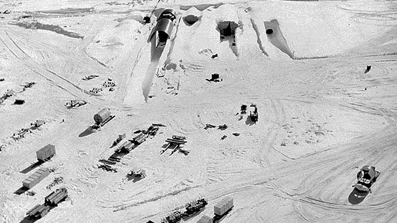 A grönlandi silórendszer bejárata