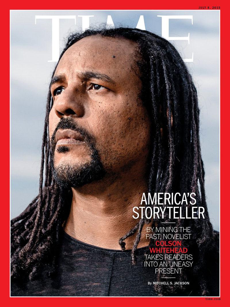 Whitehead a Time magazin címlapján
