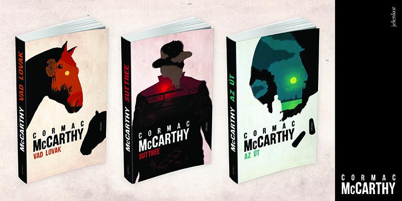 McCarthy gyönyörű kivitelű regényei a Jelenkor Kiadónál