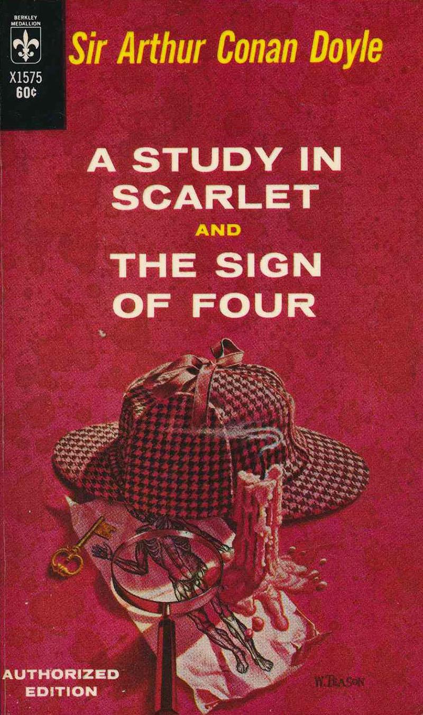 Sir Arthur Conan Doyle: A bíborvörös dolgozószoba és A négyek jele