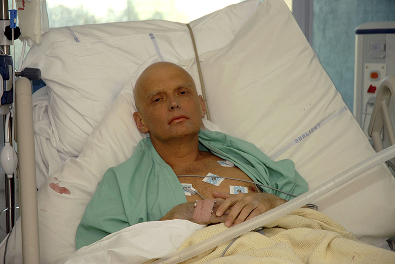 Az egykori orosz ügynök néhány nappal a halála előtt