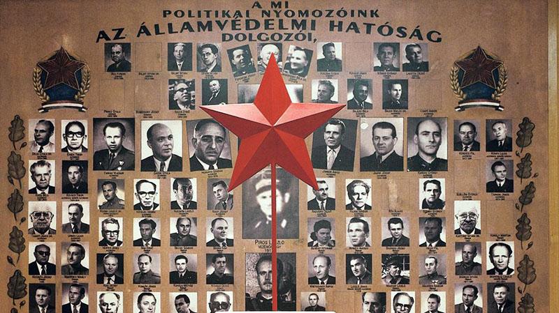 A politikai nyomozók tablója