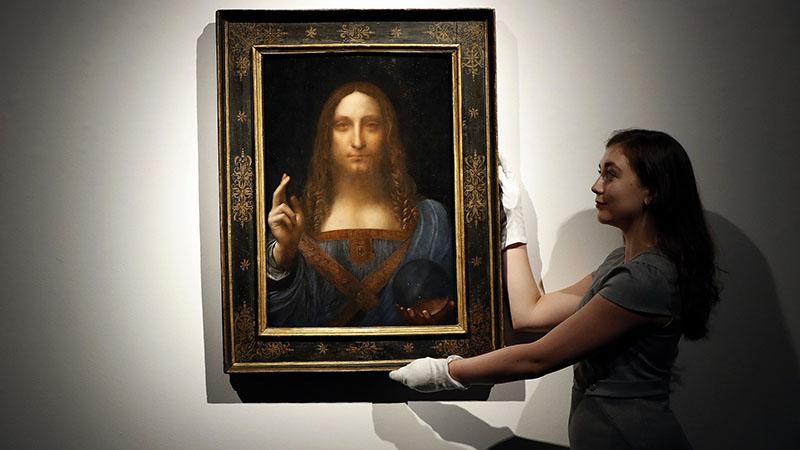 A Salvator Mundi 2017-ben 450 millió dollárért kelt el