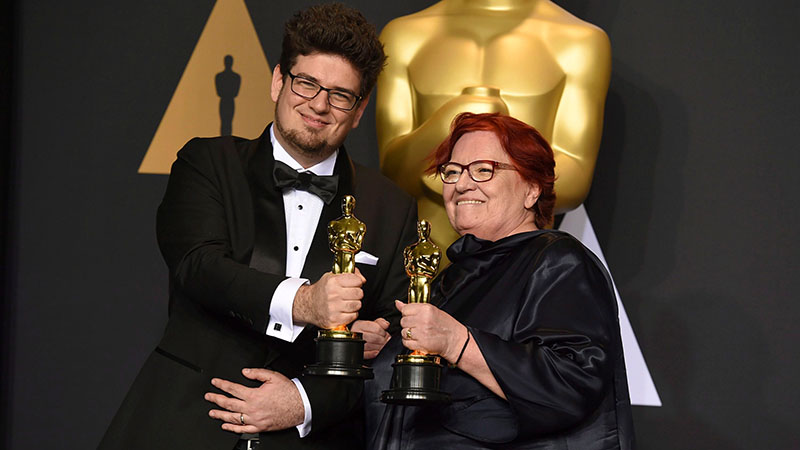 Deák Kristóf 2017-ben az Oscar-díjjal