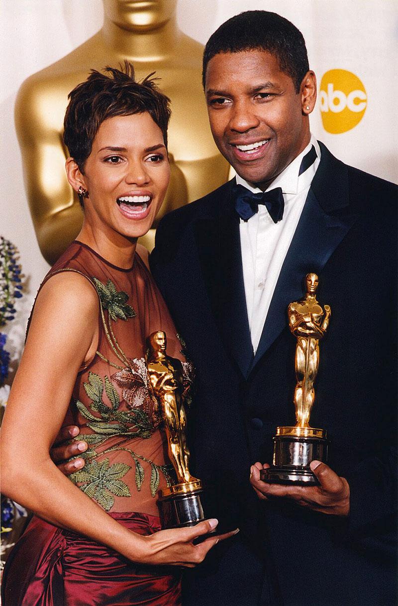 Halle Berry-vel és a Kiképzésért kapott második Oscar-szoborral