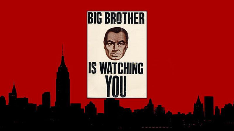 A Nagy Testvér figyel téged. (1984) /Forrás: wallpaperflare.com/