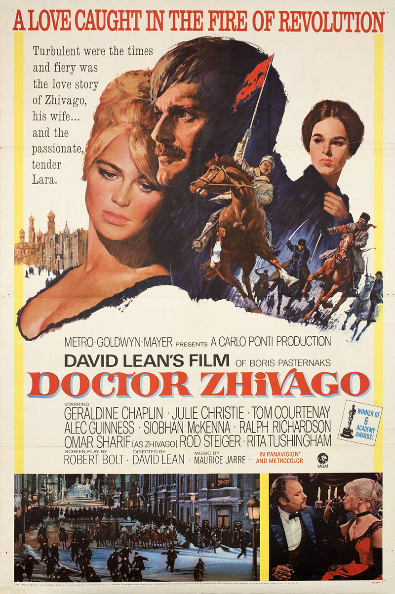 A Doktor Zsivágó eredeti plakátja