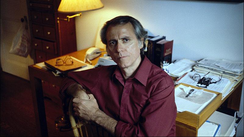 Don DeLillo a dolgozószobájában