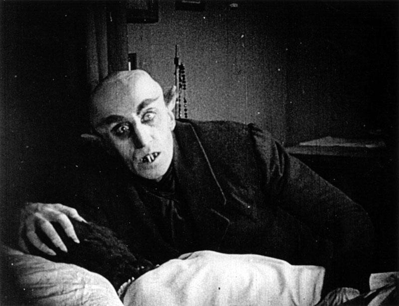 Max Schreck a vérszívó gróf szerepében