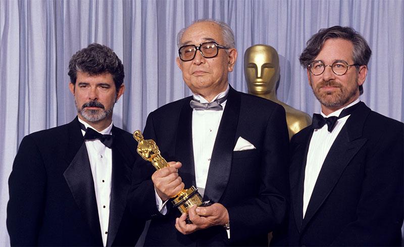 Akira Kurosawa a negyedik Oscar-díjával